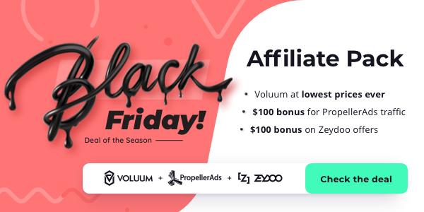 Voluum Black Friday Deal